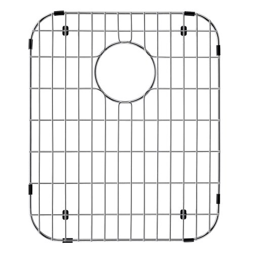- VIGO Stainless Steel Bottom Grid, 14-in. x 17.125-in.