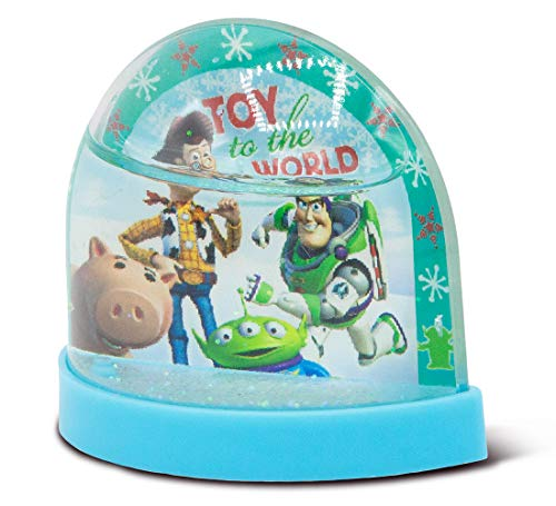 Ruz Toy Story Mini 3 Inch Plastic Holiday Snowglobe ()