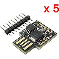 DAOKI 5 PCS Digispark Kickstarter ATTINY85 Micro USB Development Board For Arduino