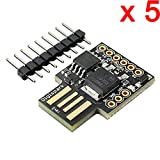 led development board - DAOKI 5 PCS Digispark Kickstarter ATTINY85 Micro USB Development Board For Arduino
