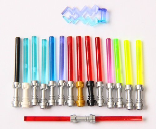 LEGO Lightsaber Metallic including Trans Green