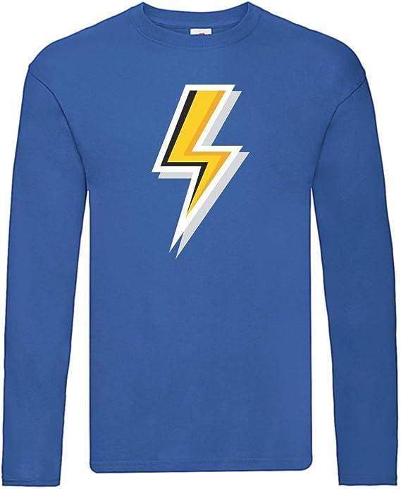 Camiseta de manga larga – Flash eléctrico amarillo Donner ...