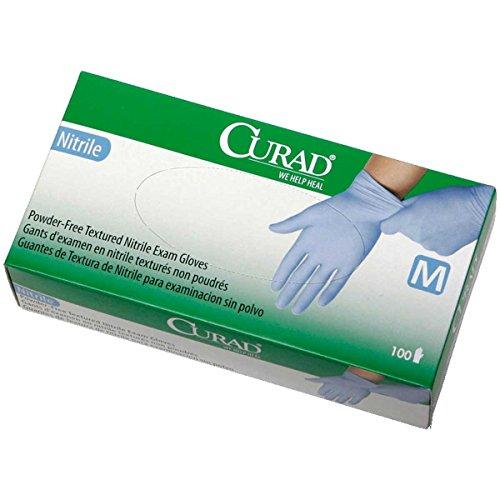 Pro 150 Wet Dry Filter (Curad CUR9315 Blue Nitrile Powder-Free Textured Exam Gloves 150 per Box MEDIUM (5 Pack))