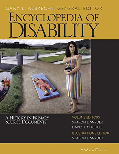 Encyclopedia of Disability: 5 Pdf