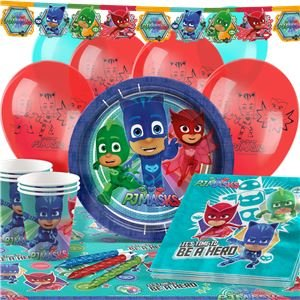 PJ Masks Party Pack  Deluxe Pack for 16