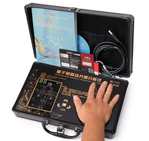 YiWon HandTouch Quantum Magnetic Resonance Body Analyzer Tester Quantum Magnetic Resonance Analyzer Family Health (6TH)