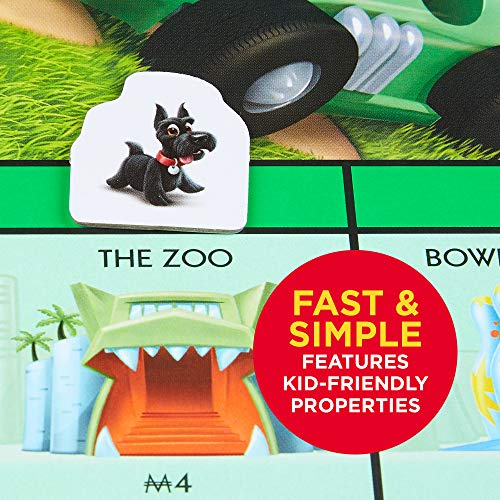 Monopoly Junior Board Game, Ages 5 and up (Amazon Exclusive) by Hasbro Gaming (Image #2)