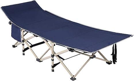 Victool Cama Plegable Camping, el Metro Cuadrado de múltiples Funciones de 10 pies Catre con Carry Bolsillo Lateral Bolsa de Viaje de Dormir al Aire ...