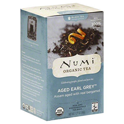Numi Organic Tea Black Tea Box