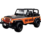 H-d Jeep Wrangler Rubicon Maisto Design 1:27 Scale Diecast Model Car Kids Toy