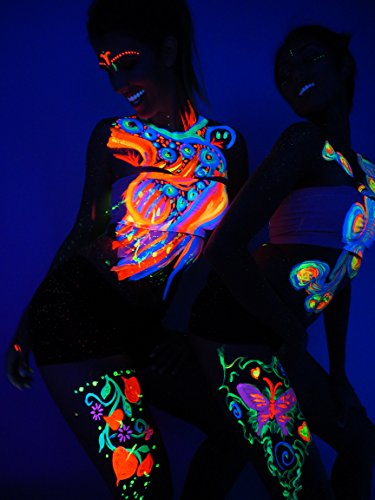 Glowing Body Paint  Pack