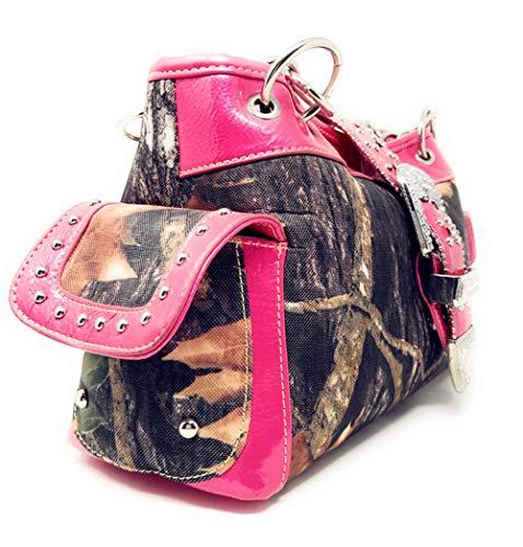 Caliente Anaranjado Carry Concho West Mujer concealed Rosa Medium oculto Texas Azul 7vBqt