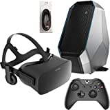 Rift Oculus Best Deals - Oculus Rift 3 Items Bundle: Oculus Rift Virtual-Reality Headset & Alienware Area 51 Series Desktop Package 8GB 2TB Bundle with Mytrix High Quality HDMI Cable