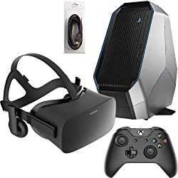 Oculus Rift 3 Items Bundle: Oculus Rift Virtual-Reality Headset & Alienware Area 51 Series Desktop Package 8GB 2TB Bundle with Mytrix High Quality HDMI Cable