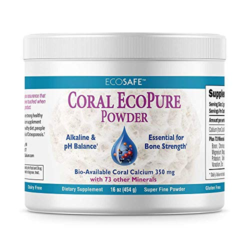 Tooth Coral - Coral LLC Eco Pure Coral Calcium Powder 16 Ounces