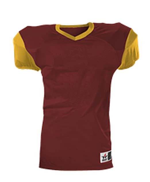 4b2cd55b3 Amazon.com: Alleson YOUTH BOYS UNIFORM TOP PRO GAME FOOTBALL JERSEY 751Y:  Clothing