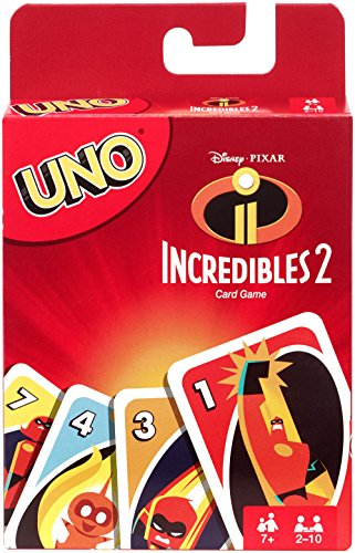 UNO Incredibles 2 Card Game -
