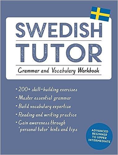 Amazon.com: Swedish Tutor: Grammar and Vocabulary Workbook (Learn ...