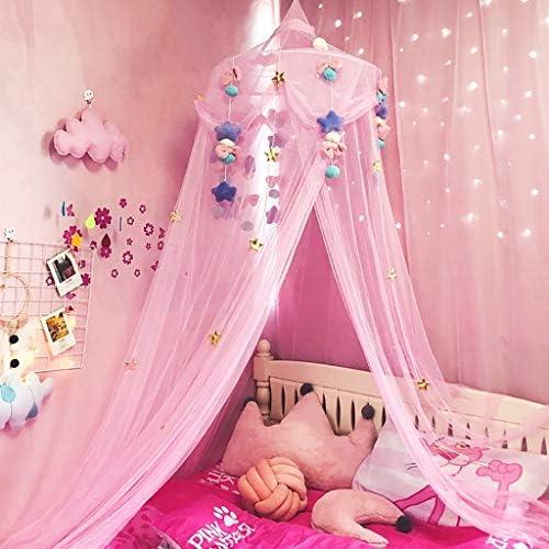 moustiquaire Lai-LYQღ Rideau de lit en Dentelle Motif d/ôme de Princesse pour Chambre denfant Polyester moustiquaire pour Fille Cadeau de f/ée Beige