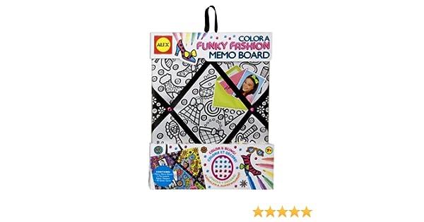Amazon ALEX Toys Color A Bag Accessories Color A Memo Board Unique Funky Memo Boards