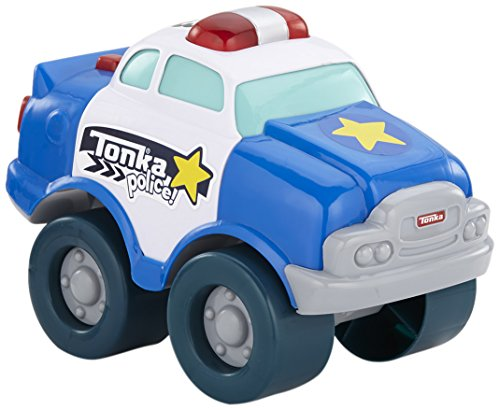 Used, Tonka Light and Sound Wobble Wheels Police Car, Blue for sale  Delivered anywhere in USA