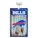 Team Sports America 3OT3803MC Buffalo Bills Metal Corrugate Ornament