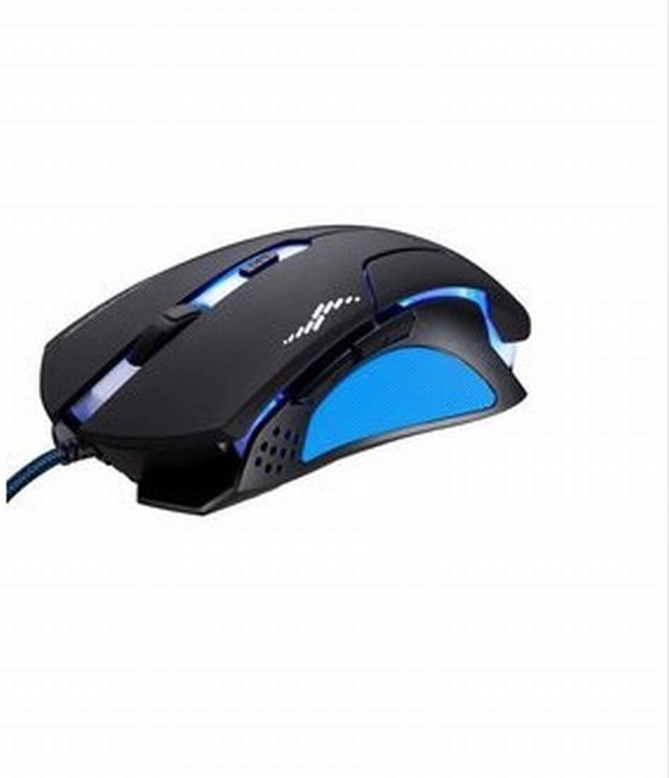 Laptop Wang5995 Office Home Mouse Gaming Mouse Wired 1200 DPI Breathing Light for PC Mac Desktop