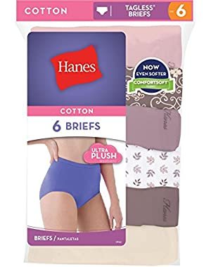 Hanes Cool Comfort153 Women's Cotton Bikini Panties 6-Pack