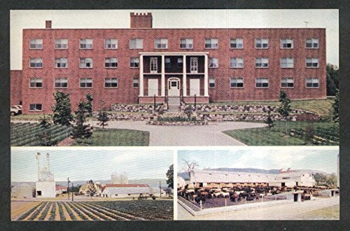 Watchtower Society Farm NY postcard 1970s
