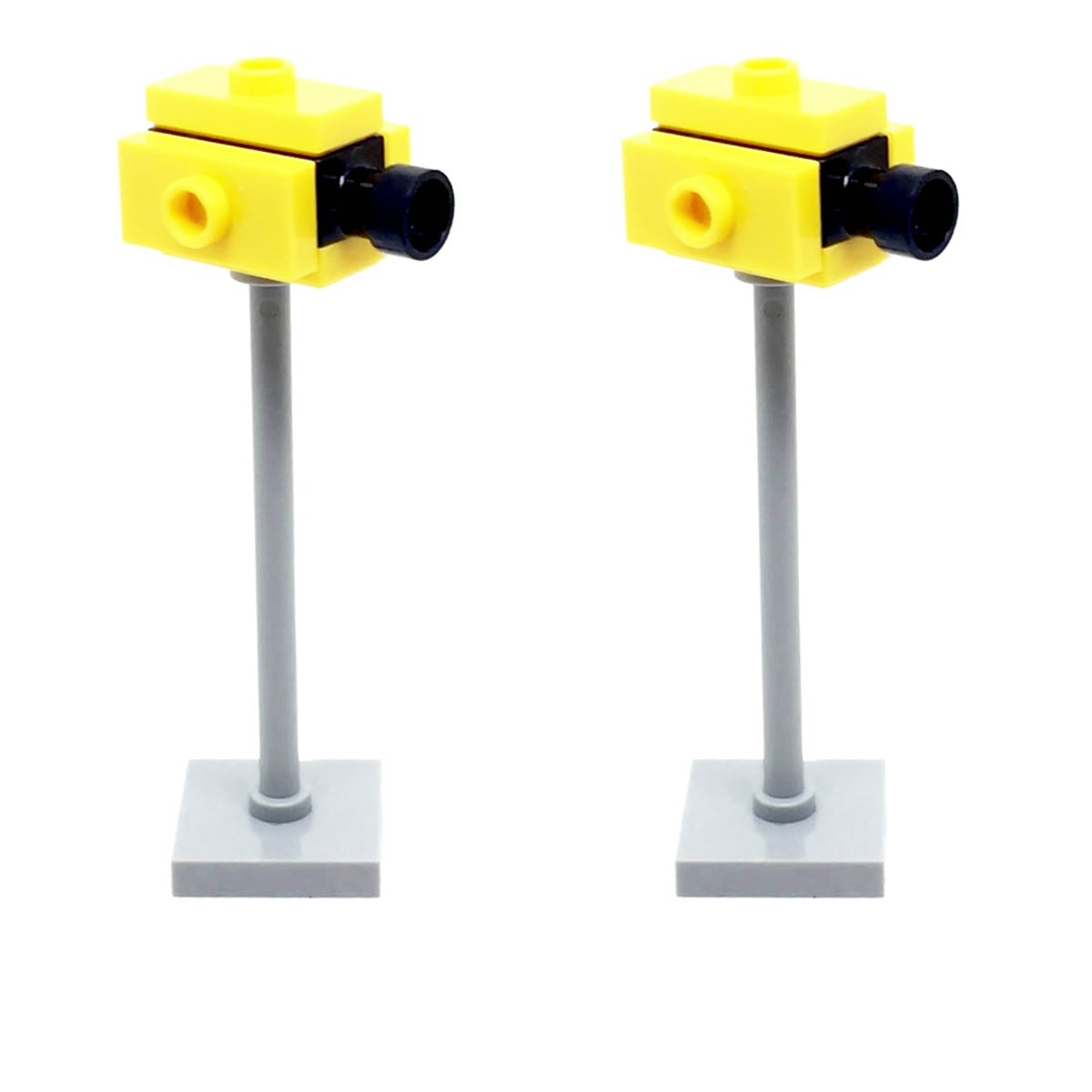 LEGO 2 x Speed Traffic Light Cameras For City Town Road by LEGO
