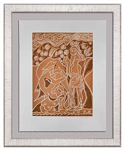 Modern Now Andre Masson (1896-1987) Original Hand SIGNED Limited Edition Etching | 1978 | Reconnaissance par le Porcher | Justification, Gallery Provenance | ART183;docs8482; +179;