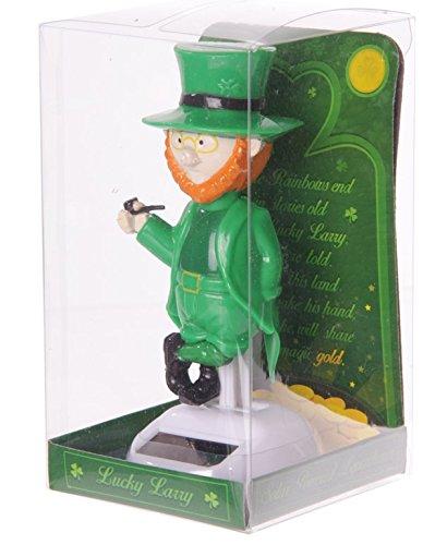 Puckator Ff52solar Elf Figurine Green/orange/white Plastic, 6x
