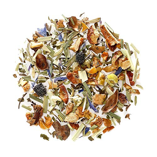 Sleep Tea Organic Herbal Tea - All Natural Sleep Aid Blend - Good Night Relaxing Camomile Infusion 200g 7.05 Ounce ()