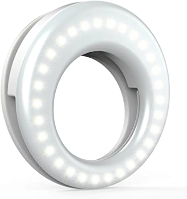 QIAYA Selfie Light Ring Lights LED Circle Light Cell Phone