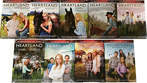 Heartland: The Complete Seasons 1, 2, 3, 4, 5, 6, 7, 8, 9 [DVD Complete Box Set 1-9] by