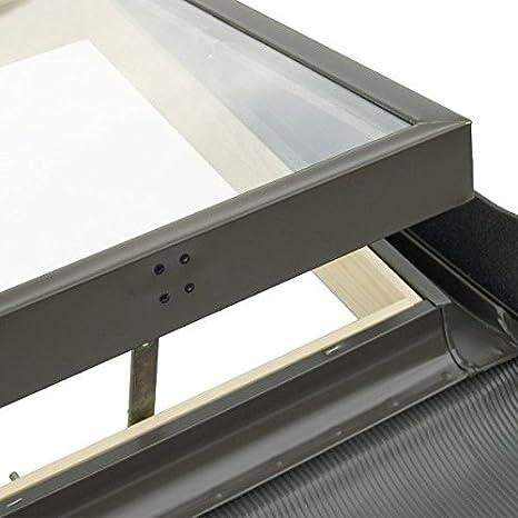 Solstro Kaltraumfenster f/ür ungeheizte R/äume 85x85 cm Kieferfinish