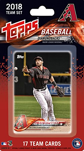 Arizona Diamondbacks 2018 Topps MLB Baseball Factory Sealed Special Edition 17 Card Team Set with Paul Goldschmidt and Zach Greinkeplus
