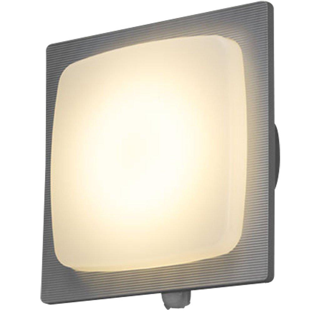 登場! アイリスオーヤマ LEDポーチ灯 IRBR5L-SQFRS-MSBS-P 人感センサー付き LEDポーチ灯 シルバー シルバー 電気工事必要 IRBR5L-SQFRS-MSBS-P B06ZZQQ8H7, ネットショップラブリカ:f4802433 --- obara-daijiro.com