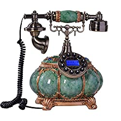 Retro Telephone -Edinburgh Style -Vintage Antique Style Table Telephone -Resin Material -Home and Office Decor