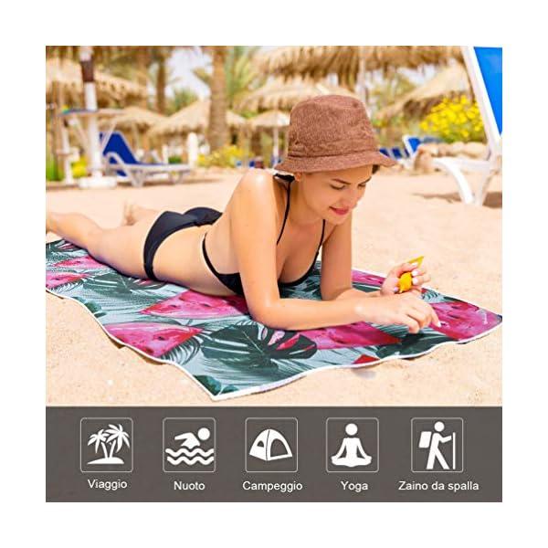 VBIGER Telo Mare Asciugamani Mare Abbigliamento da Mare Telo Mare Donna Bikini Coprire 7 spesavip