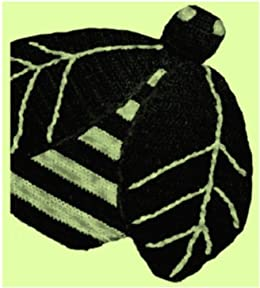 2299 Bumble Bee Potholder Vintage Crochet Pattern Kindle Edition