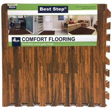 faux-wood-interlocking-floor-mats-with-finishing-borders-4pk-maple