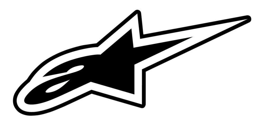 Guanti in pelle SP-Z Drystar Alpinestars impermeabili da moto neri