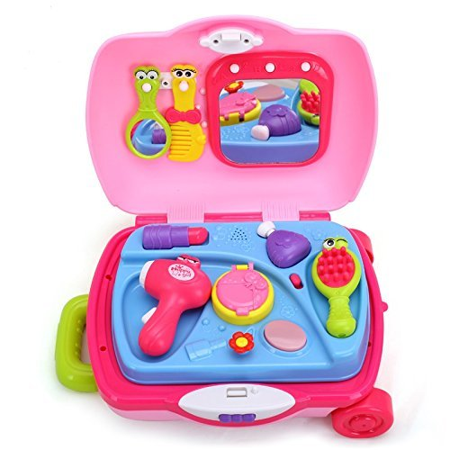 Beauty Salon Kids Cosmetic Toys Set for Toddler Girls is ...