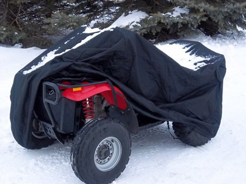 Covermates - ATV Cover - 50W x 95D x 48H - Ultima Collection - 7 YR Warranty - Year Around Protection - Black