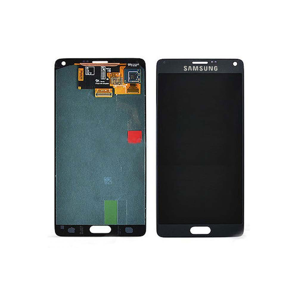 Touch Screen Digitizer and LCD for Samsung Galaxy Note 4 - Charcoal Black