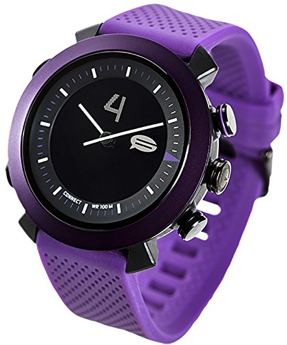 COGITO Classic Smart Bluetooth Connected Watch for Smartphones - Deep Purple by COGITO