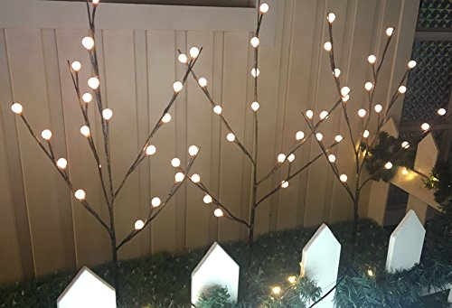 Outdoor Lighted Twig Balls in US - 4