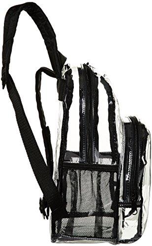AmazonBasics Stadium Approved Mini Backpack, Clear by AmazonBasics (Image #3)