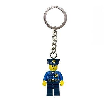 LEGO City: PolicíUn En Azul Equipo Llavero: Amazon.es ...